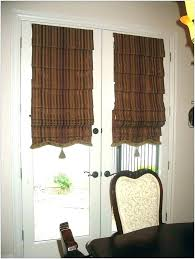 front door window blinds curtain for glass medium size of shades how small basement treatments me