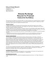 Executive Summary Resume Example Collection Of Solutions Template