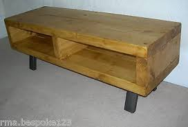 industrial tv stand. 5 Of 7 Tv Stand Contemporary Rustic Industrial Unit Various Shades C