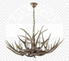 chalet wood chandelier lamp antler