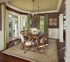traditional dining room designs. Traditional Dining Room With Green Ceiling And Drapes [Design: LG Vale] Designs N