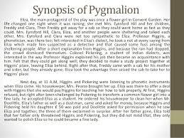pyg on synopsis of pyg on