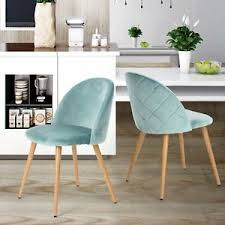 eames dining chair. Image Is Loading Eames-Dining-Chairs-Coavas-Soft-Velvet-Fabric-Cushion- Eames Dining Chair