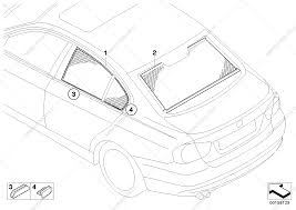 Sunshade for bmw 3' e90 lci 320i n46n sedan ece