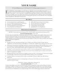 Accounts Receivable Resume Examples Accounts Receivable Report Sample And Accounts Receivable Resume