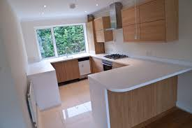 Designs For U Shaped Kitchens Diy U Shaped Kitchen Idas With Nice Wooden Cabinetry And White