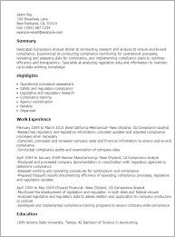 Compliance Analyst Resume Extraordinary Is Your Resume As Powerful As It Should Be Use This Compliance