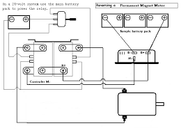 schematic v is for voltage electric vehicle forum contactor wiring schematic for reversing pm motors