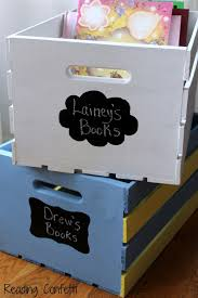 diy book storage crates finally that kids book storage box solution i ve been looking for