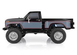 CR12 Ford F-150 4×4 Pick-Up Truck, Black: 1/12 Scale RTR Ready to ...