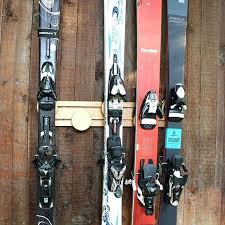 wall ski racks ski storage racks ski wall mount on ski rack 5 pair wall mount wall ski racks
