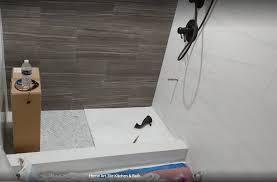 Marble Tiles Bathroom Renovation in Jamaica Queens