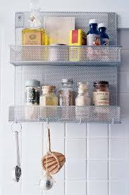 Wall Mounted Kitchen Rack Joygood Stainless Steel Kitchen Shelving Wall Shelf Double Spice
