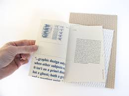 context jack mulholland this three part book of essays on design medium and context is printed on three types of paper sheared and perfect bound in various directions to