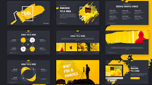 Amazing Powerpoint Designs 003 Cool Free Powerpoint Template Slide Awesome Templates