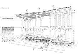 Museum Circulation Design Forgotten Tehran Bridge Turned Into Museum Insight Cid