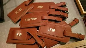 personalized leather swag