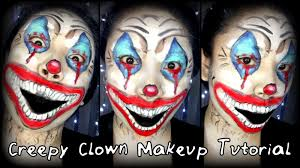 today i am extremely excited to show you this creepy clown look it is perfect for those who are looking for a scary looking makeup tutorial to add an