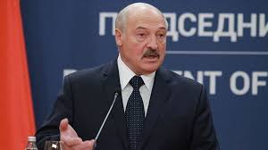A key house republican joined the chorus of media freedom advocates blaming belarus' authoritarian president alexander lukashenko for engineering a bogus bomb threat and scrambling a fighter jet. Lukashenko New Presidential Election On The Table