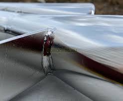 <b>Защита переднего бампера</b> d76/<b>57</b> клыки на Lexus LX450d