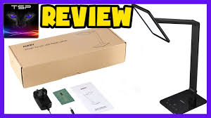 aukey multifunction adjule led desk lamp review