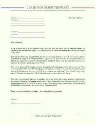 Cease Desist Letter Template Kazakia Info
