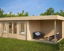 smart garden office. Contemporary Garden Log Cabin With Veranda Jacob D Smart Office E