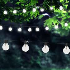 party 4500mm led transpa clear glass outdoor fairy lights