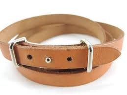 hermes silver tone hardware leather h api belt or wrap bracelet