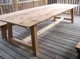 long patio table rustic wood patio table best of outdoor dining table cedar i really like long tables diy long patio table