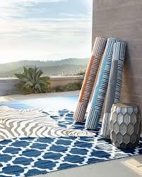 maya zebra indoor outdoor rug 8 x 10