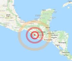 Messico-Guatemala : forte scossa di terremoto su terraferma ...