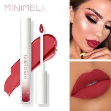 minimeli matte liquid lipstick lip