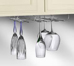 commercial hanging wine glass racks