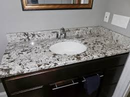 bathroom granite installation