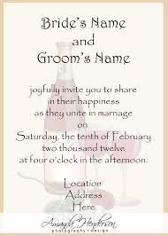 Wording For Wedding Invitations Theruntime Com
