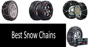 Security Chain Tire Chains Size Chart Top 5 Best Snow Chains In 2019 From 28 To 116