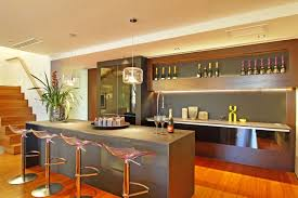 open kitchen bar design