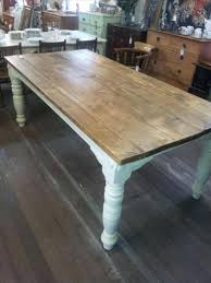 very large pine dining kitchen table larger image round and chairs