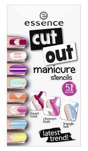 essence <b>Наклейки для ногтей cut</b> out manicure stencils | Купить в ...