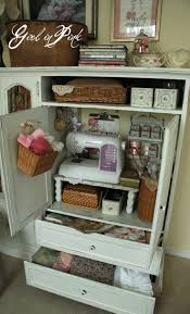 Sewing Room Storage Cabinets 46 Best Images About Sewing Corner On Pinterest Murphy Desk
