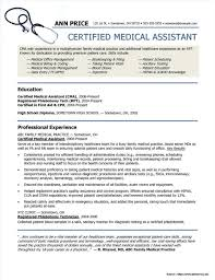 Resume Samples For Medical Assistant Entry Level Entry Level Medical Assistant Resume Sample Stibera Resumes 18