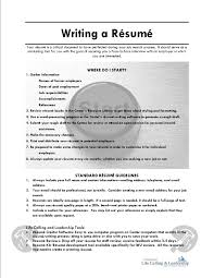 Writing A Resume Online Resourceswriting A Resume Cover Letter