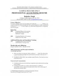 Resume Finance Objective Resumes Toreto Co Job For Examples