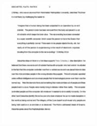 pd turn in essay descartes plato matrix compare and contrast image of page 3