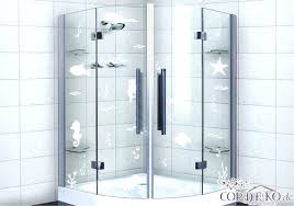 glass decal set glass decal fish sea animals glass decoration milk glass shower bath window foil glass decal