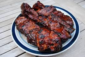 Grilled CountryStyle Pork Ribs With Red Wine Vinegar Sauce How To Grill Country Style Ribs On A Gas Grill
