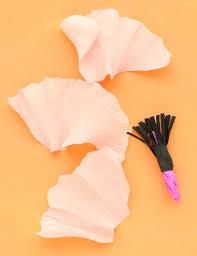 Tissue Paper Flower Tutorials Make A Crepe Paper Flower Garland A Beautiful Mess