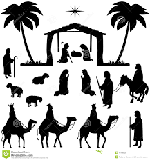 nativity silhouette patterns download. Brilliant Nativity Intended Nativity Silhouette Patterns Download