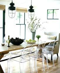 lucite dining chairs clear lucite dining room set